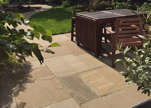 Raj Green Sandstone Patio