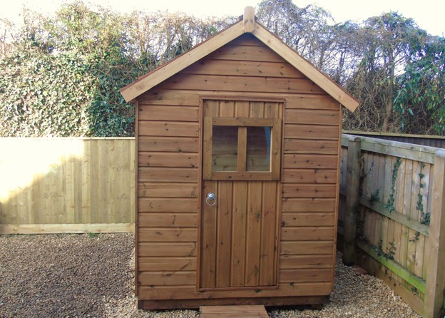 Bespoke Shed Using Shiplap Timber