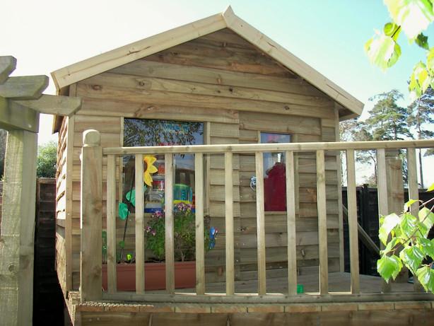 Darren's Dens 1st Play Tower