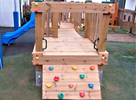 Low Level Climbing wall