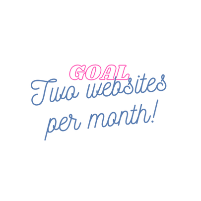 MBFM Goal to build two websites per month.png