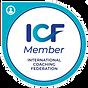 ICF Member International Coaching Federation logo