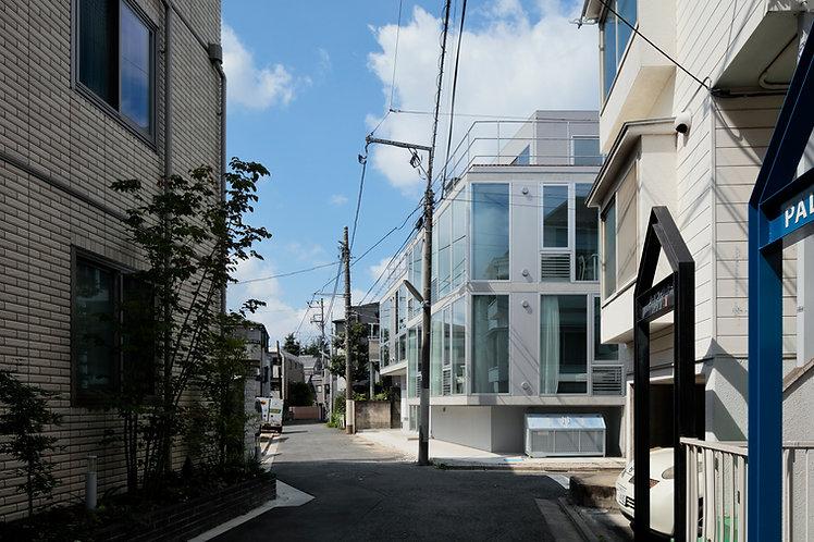 TA+A | 東京合宿所 外観写真 コンクリート 建築作品