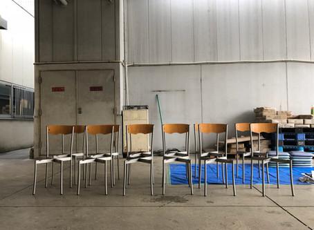 【みなとみらいの地域支援センター】使われた家具に更に自分たちで手を加える意味
