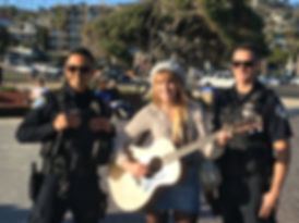 Ava August With Laguna PD 2.JPG