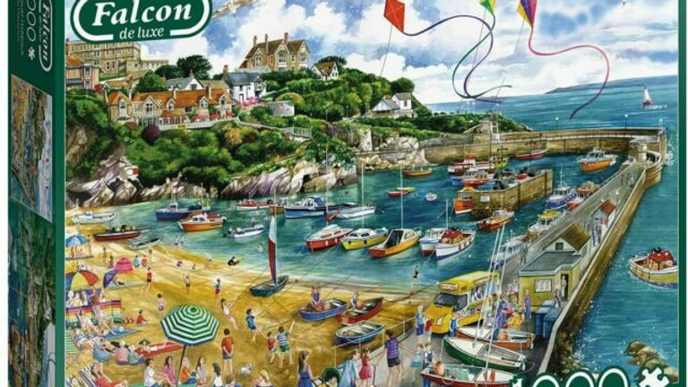 Falcon deluxe Newquay Harbour Jigsaw Puzzle