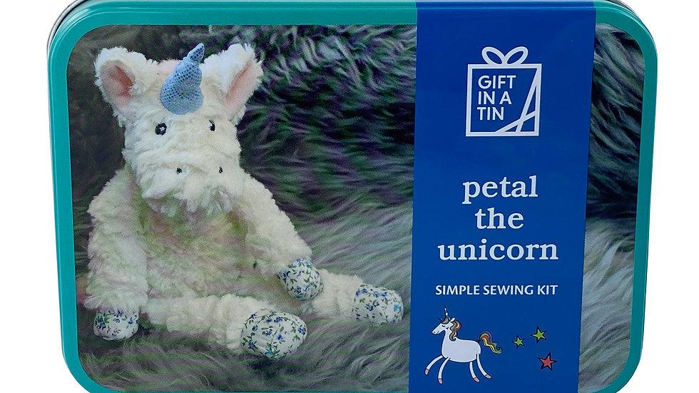 Gift in a Tin Petal the Unicorn