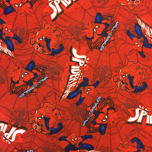 Spider-Man Brushed Cotton Fat Quarter