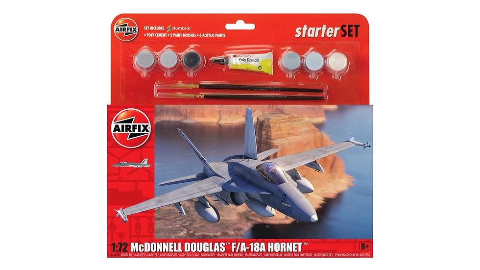 Airfix McDonnell Douglas F/A-18A Hornet Large Starter Set