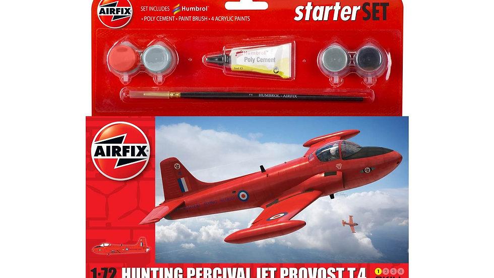 Airfix Hunting Percival Jet Provost T.4 Starter Set