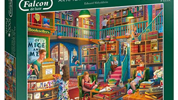 Falcon deluxe An Afternoon in the Bookshop Jigsaw Puzzle