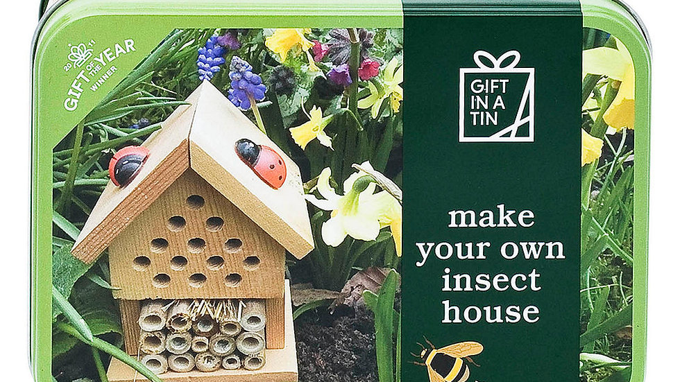 Gifts in a Tin, Make your own insect house