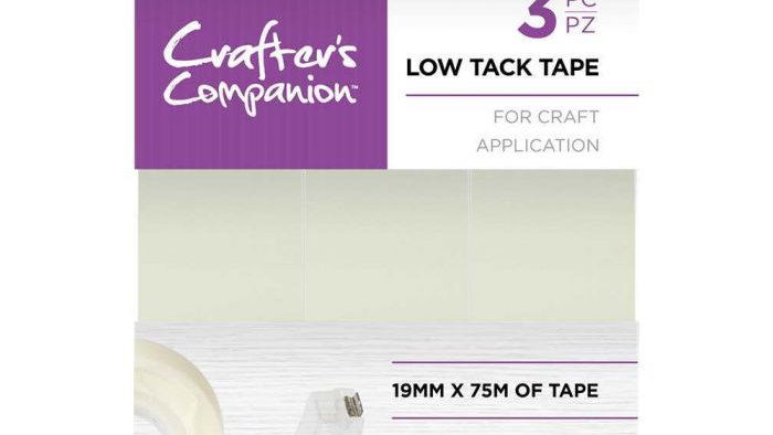 Crafter's Companion Low Tack Tape 3 rolls