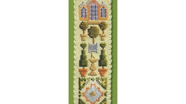 Textile Heritage Cross Stitch Bookmark Kit - The Orangery