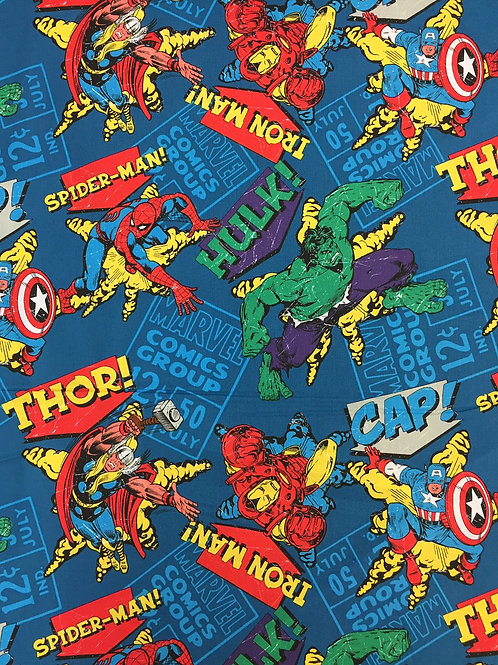 Marvel Comics Group Fat Quarter