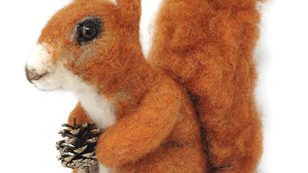 The Crafty Kit Co Red Squirrel