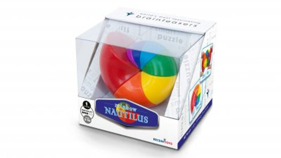 Recent Toys Rainbow Nautilus Brainteaser