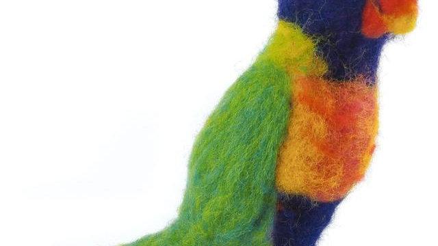 The Crafty Kit Co Rainbow Lorikeet