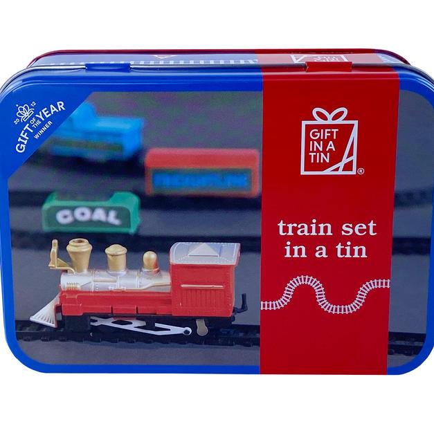 Train in a tin
