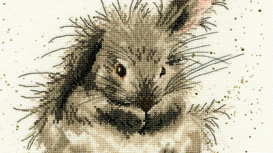 """Bothy Threads Cross Stitch Kit """"Bath Time"""" by Wrendale"""