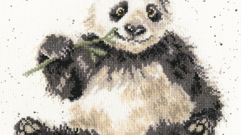 """Bothy Threads Cross Stitch Kit """"Bamboozled"""" by Wrendale"""