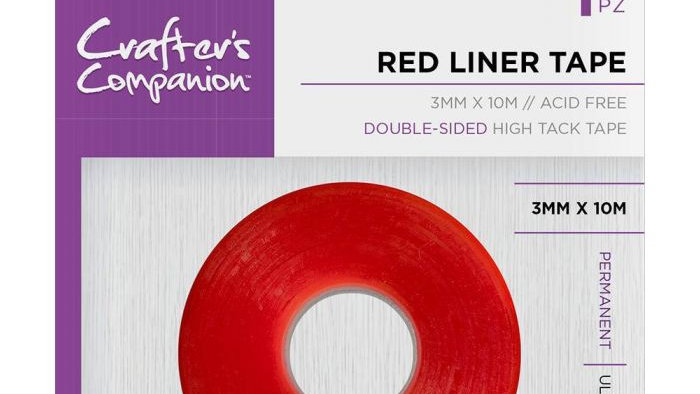 Crafter's Companion red liner double sided tape 3mm