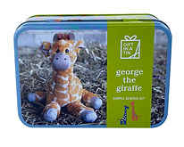 101312 George the Giraffe White Out High