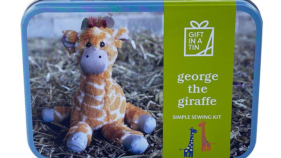 Gifts in a Tin George the Giraffe