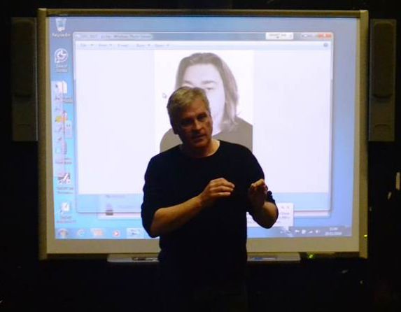 iconicSKILL's Nick Farr speaking at Scottish Drama Training Network about auditions, castings, self taping
