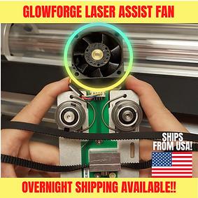 Glowforge Laser Assist Fan
