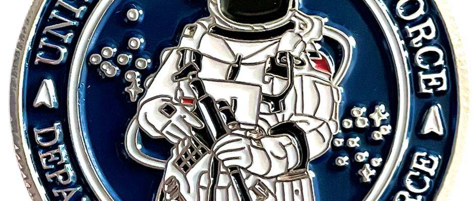Space Force Challenge Coin