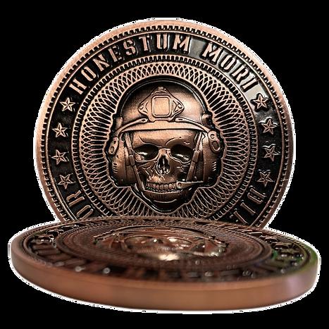 Honestum Mori Memento Mori Copper Challe