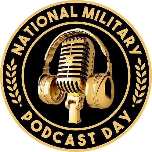 National Military Podcast Day Sticker