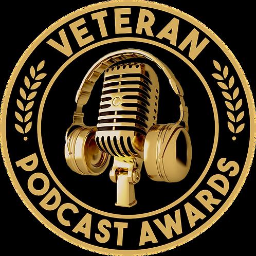 Veteran Podcast Awards Sticker