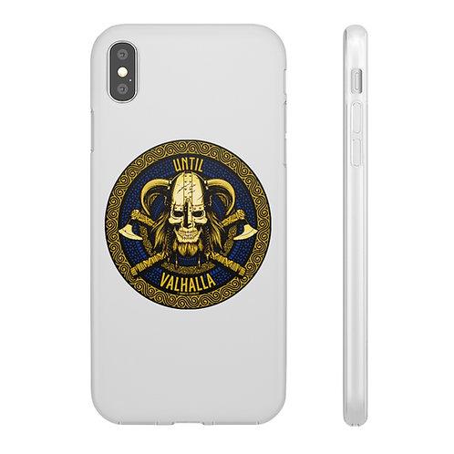Until Valhalla Apple iPhone 12 11 X Xs Pro Max Mini Flexi Shockproof Phone Case