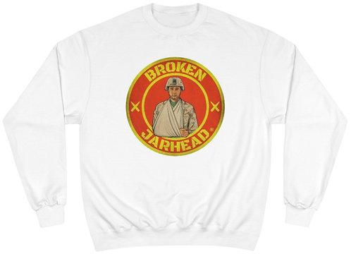 Broken Jarhead® Authentic Red & Yellow Champion® Sweatshirt
