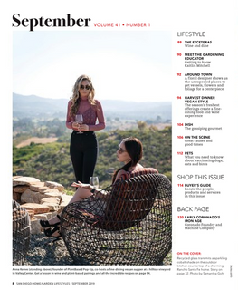 Anna featured in Home & Garden Magazine, San Diego