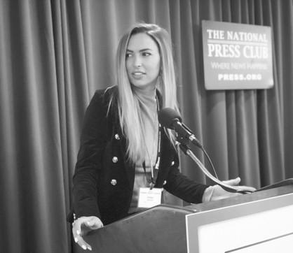 Anna Keve Press Club Image
