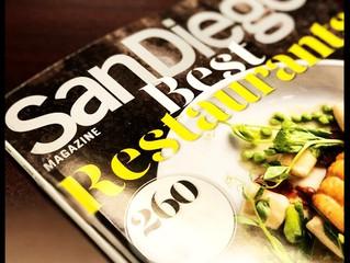 "The vegan foodie guide to San Diego Magazine's 2018 ""Best Restaurants"" issue"