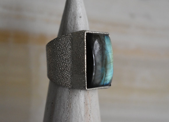 Labrodorite Power Ring 10