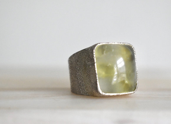Prehnite Power Ring 7