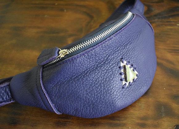 Violet Hip Belt with Prehnite