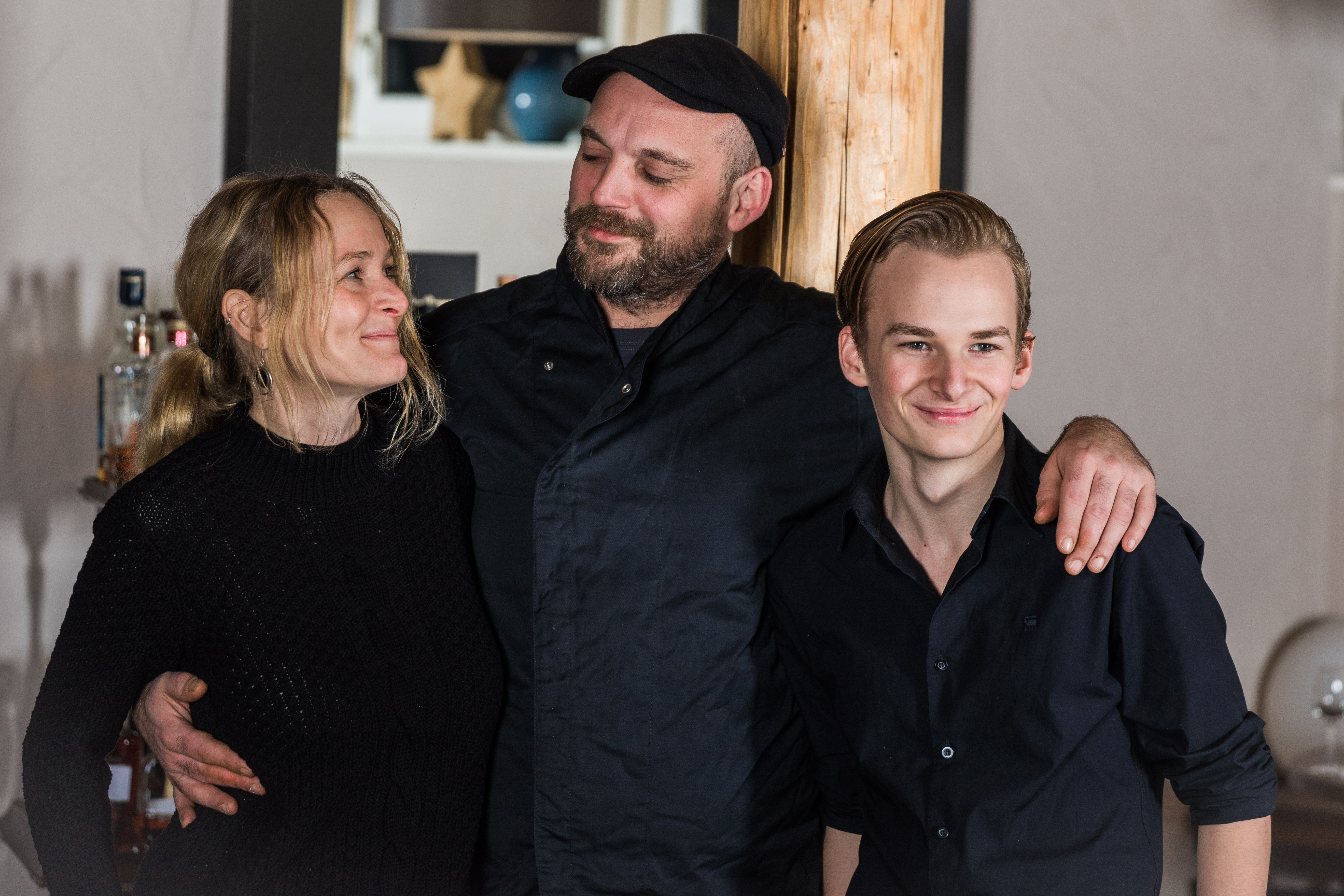 Petra, Etienne & Chris