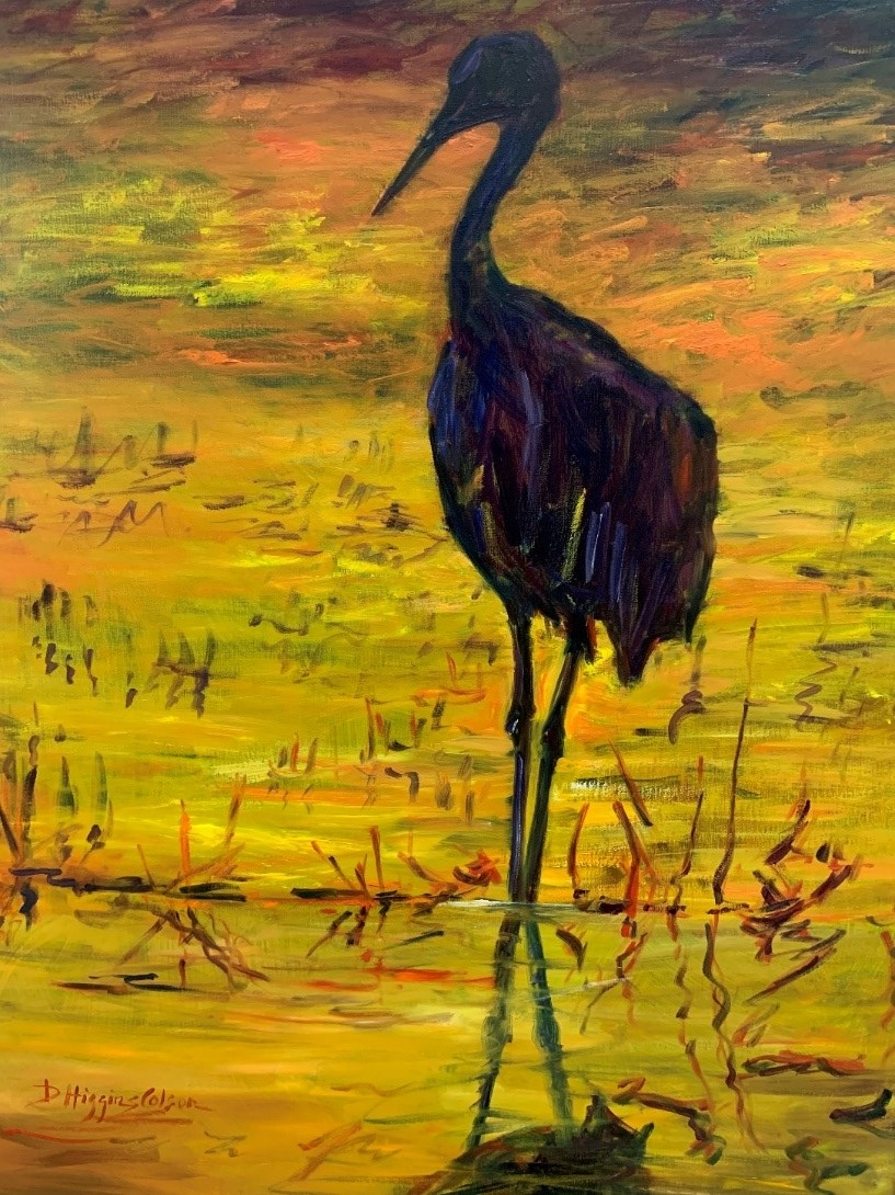 Heron Nocturne