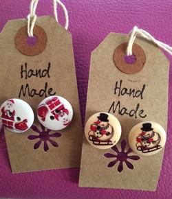 Christmas Earring Gift Tags