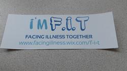 F.I.T Car Bumper Sticker