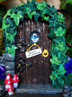 Fimo Fairy Door