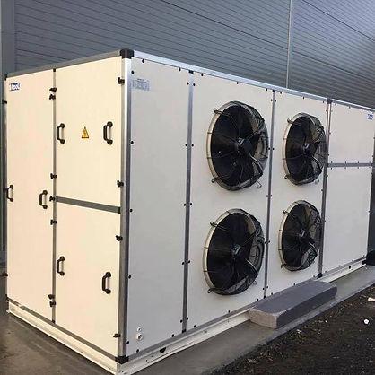 80 kW Luft Luft varmepumpe