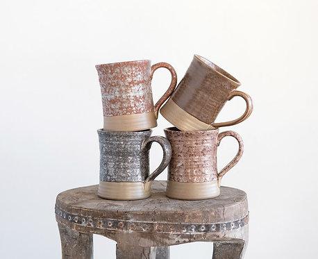 Stoneware Mug, Reactive Glaze