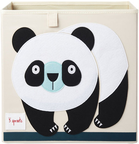 Panda storage box
